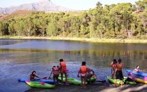 Canoeing Sierra de las Nieves