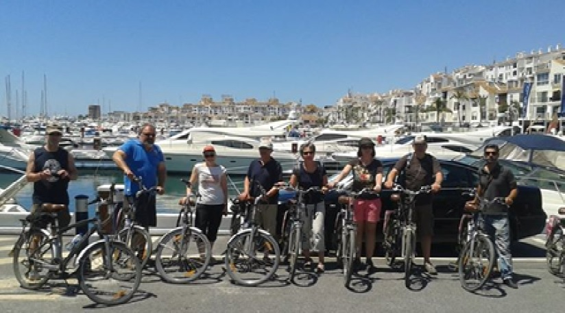 Marbella banus bike tour