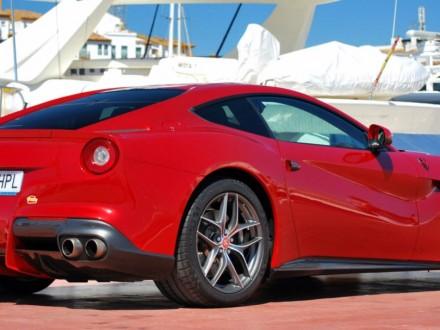 Driving a Ferrari