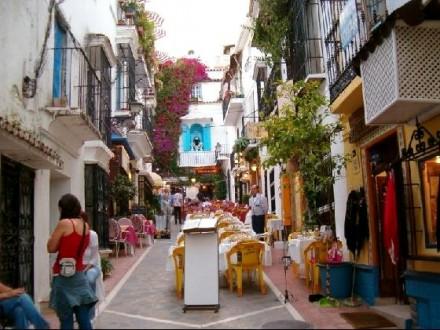 Marbella old town tour