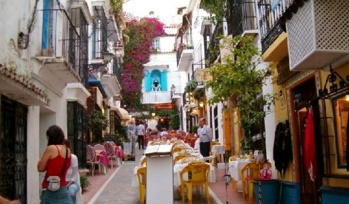 Marbella old town tour