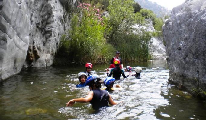 senderismo acuático