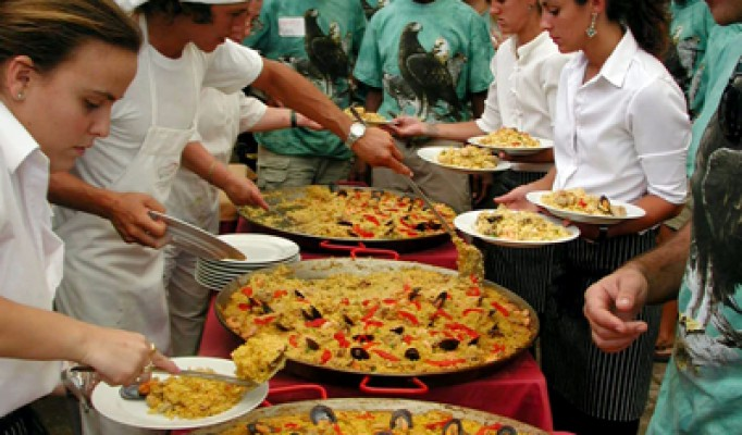 paella demonstration