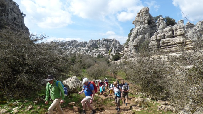 Hiking El Torcal de Antequera