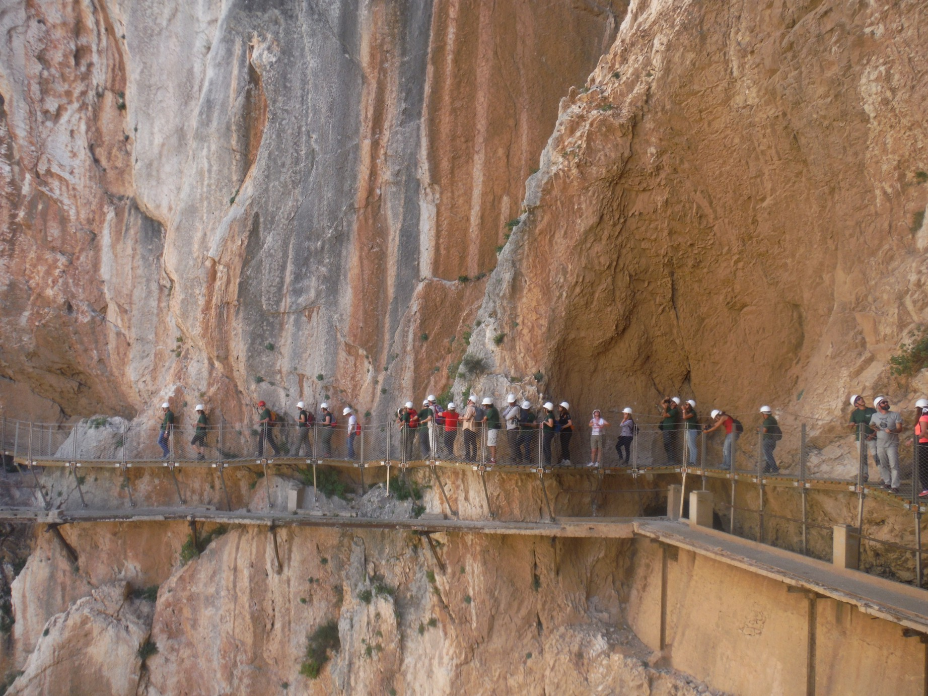 Hiking Caminito del Rey. El Chorro.
