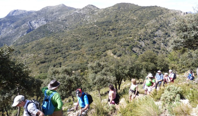 marbella mountain hiking