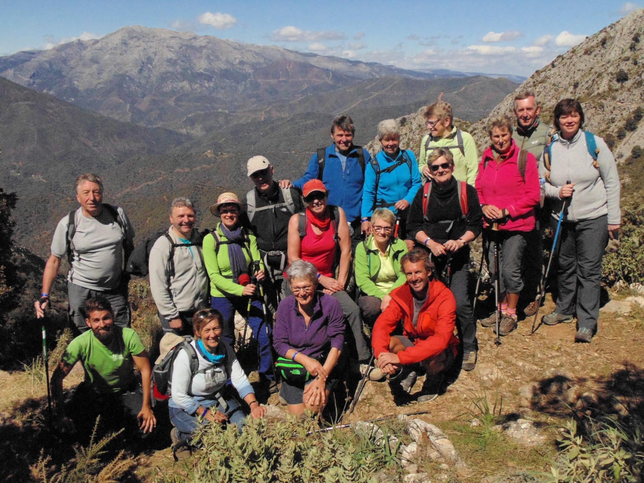 Hiking Cañada del Infierno