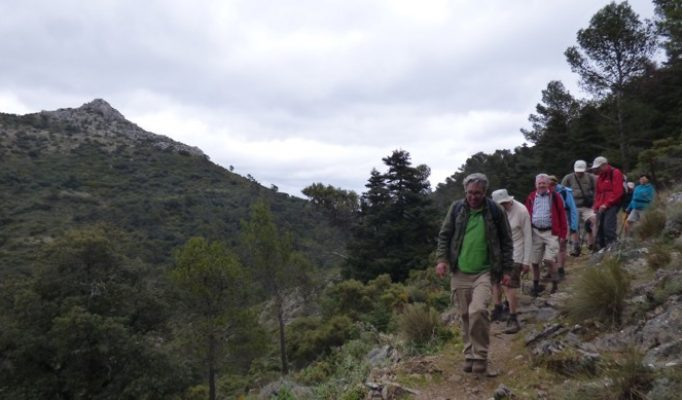hiking El Pozuelo